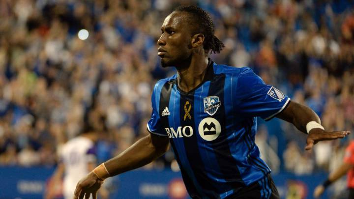 new product 7ec12 a72a2 Didier Drogba returns to Montreal Impact - AS.com