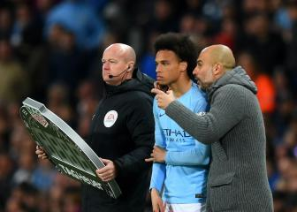 No contact with Bayern Munich for Leroy Sané says Guardiola