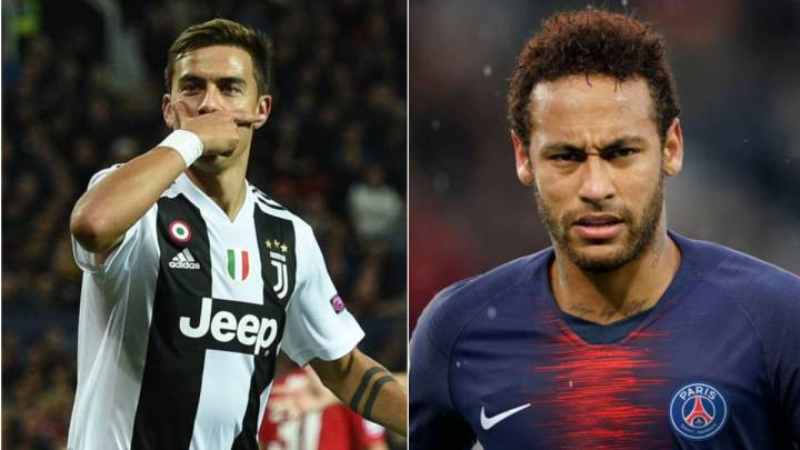 Image result for dybala and neymar