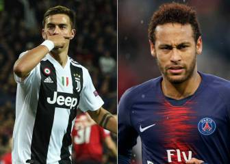PSG: Dybala top option as Neymar replacement