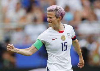Rapinoe guest of honour at Arsenal vs Fiorentina ICC match