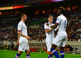 Abraham, Barkley goals see Chelsea beat Barça in Japan