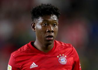 Bayern Munich's Alaba honoured by Barcelona link