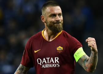 De Rossi says he's fulfilling a dream by joining Boca Juniors