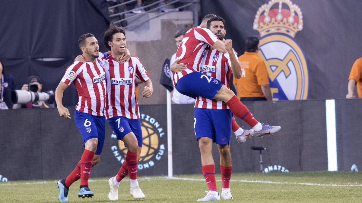 Atlético Madrid Put Seven Past Real Madrid In New York As Com