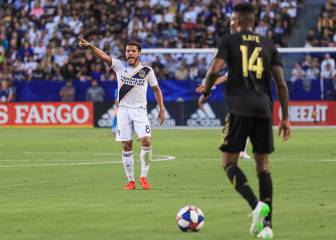 LA Galaxy celebrates Jona Dos Santos second anniversary