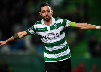 Bruno Fernandes in tears suggests he is Man United bound