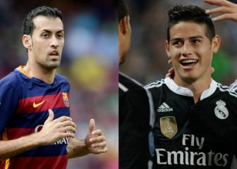 Busquets, James Rodriguez on Beckham's Inter Miami radar