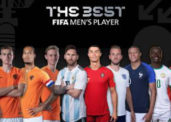 No Real Madrid nominee for FIFA The Best award for first time
