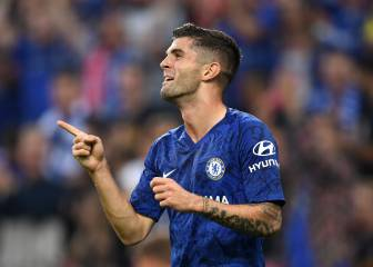 Christian Pulisic scores twice and assists in eight-minute spell