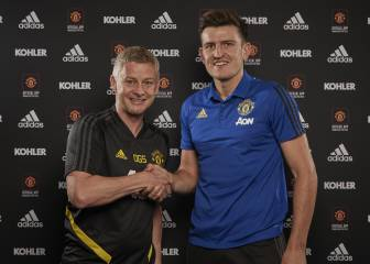 Harry Maguire joins Man United for world-record fee