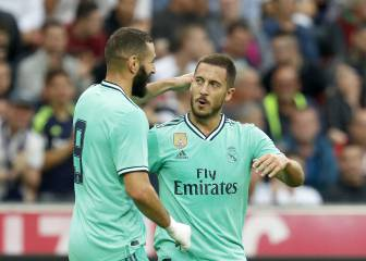 Hazard secures win for Madrid in Salzburg