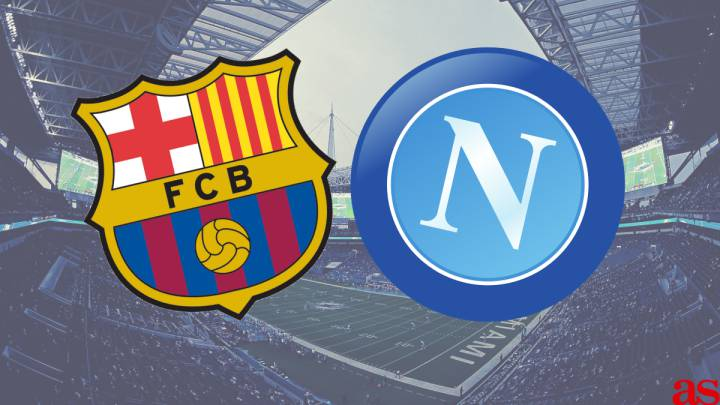 Barcelona vs Napoli: how and where to watch, times, TV