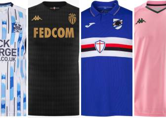 Top 10: Best football kits ahead of the 2019/20 season