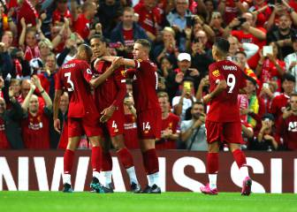 Liverpool stroll to victory over newly promoted Norwich