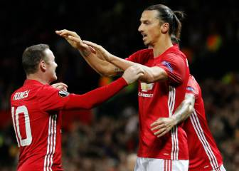 Rooney and Ibrahimovic to face each other for the first time
