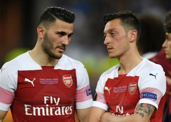 Özil and Kolasinac out after