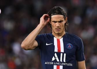 Edinson Cavani rumoured to be Inter Miami's first big signing