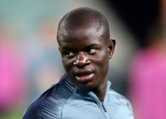 Kanté a doubt for UEFA Super Cup showdown with Liverpool