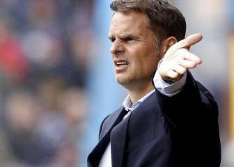 Frank de Boer doesn't support equal pay in sports for women