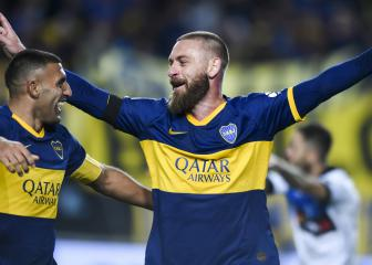 De Rossi scores on bittersweet Boca Juniors debut