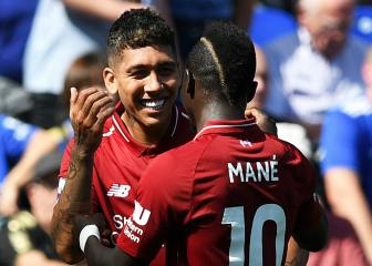 'Lucky boy' Mané credits Firmino for UEFA Super Cup double