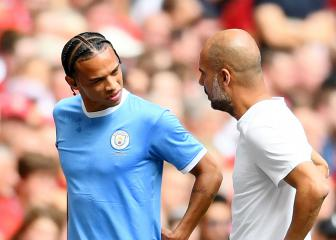 City's Leroy Sané to undergo surgery on ACL injury in Austria