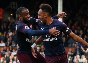 Arsenal open contract talks for Aubameyang and Lacazette