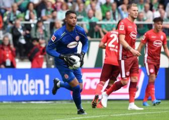 Zack Steffen takes centre stage in his Bundesliga debut
