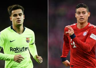 James-Coutinho: comparing Bayern's number 10s