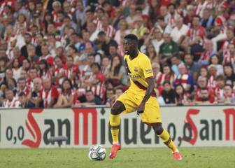 Dembélé to miss five weeks with hamstring tear
