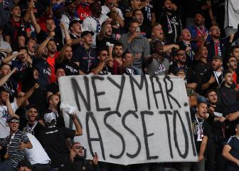 PSG punished after fans abuse wantaway Neymar
