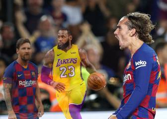 Griezmann takes inspiration from Messi and LeBron