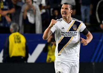 I'm the man: Zlatan Ibrahimovic knows who's boss in LA