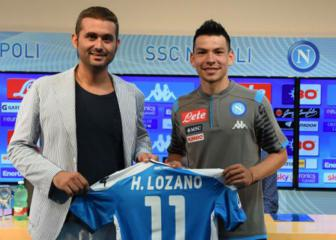 Lozano's first choice was always Napoli