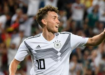 Luca Waldschmidt earns first Germany call-up