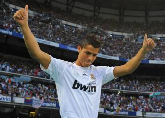 On this day: Cristiano Ronaldo makes his Real Madrid debut