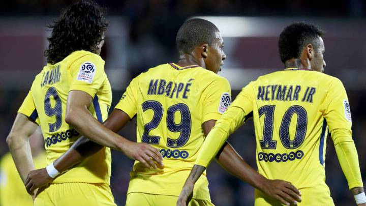 big sale 5a7c6 04356 Champions League | Neymar, Mbappé and Cavani could all miss ...