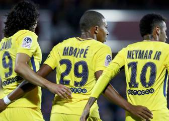 Neymar, Mbappé and Cavani could all miss Madrid game