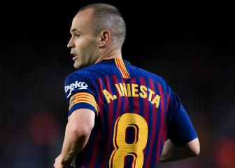 Barça legend Iniesta reflects on key aspects of LaLiga career