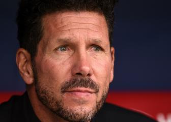 Simeone dismisses title talk after Atlético's perfect start