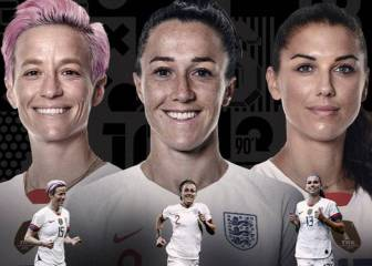 Rapinoe, Morgan and Bronze up for FIFA Best honour
