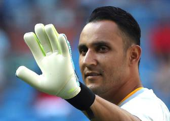 Keylor Navas joins Paris Saint-Germain through to 2023