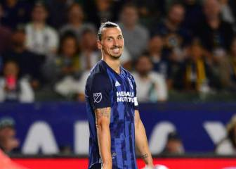 Zlatan Ibrahimovic 'turns 50' with LA Galaxy
