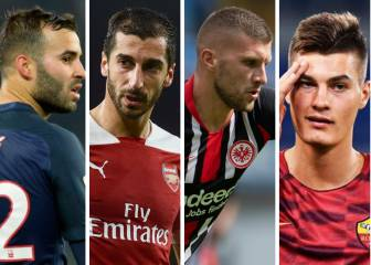 Deadline day round-up: Mkhitaryan, Jesé, Silva, Schick...