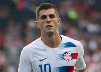 Christian Pulisic arrives in USA ahead of Mexico clash
