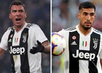 Emre Can and Mandzukic omitted from Juve Champions League squad