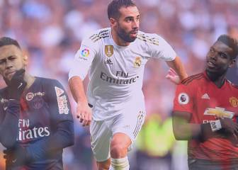 Carvajal says Real Madrid must forget about Neymar and Pogba