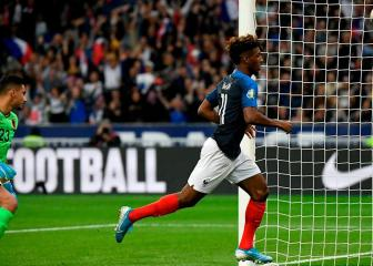 Kingsley Coman steps up in Mbappé's absence