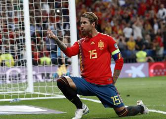 Sergio Ramos equals Casillas with 167 Spain caps